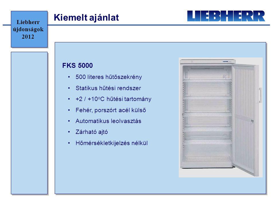 Kiemelt ajánlat FKS 5000 Liebherr újdonságok 2012