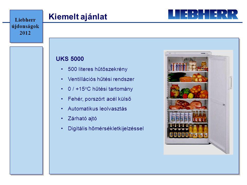 Kiemelt ajánlat UKS 5000 Liebherr újdonságok 2012