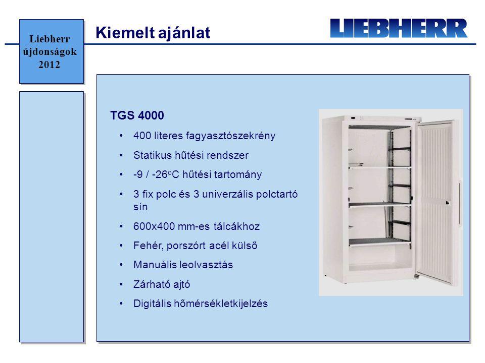 Kiemelt ajánlat TGS 4000 Liebherr újdonságok 2012