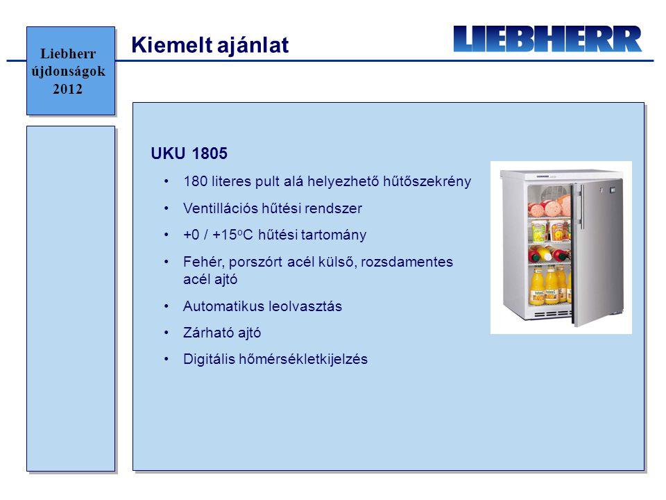 Kiemelt ajánlat UKU 1805 Liebherr újdonságok 2012
