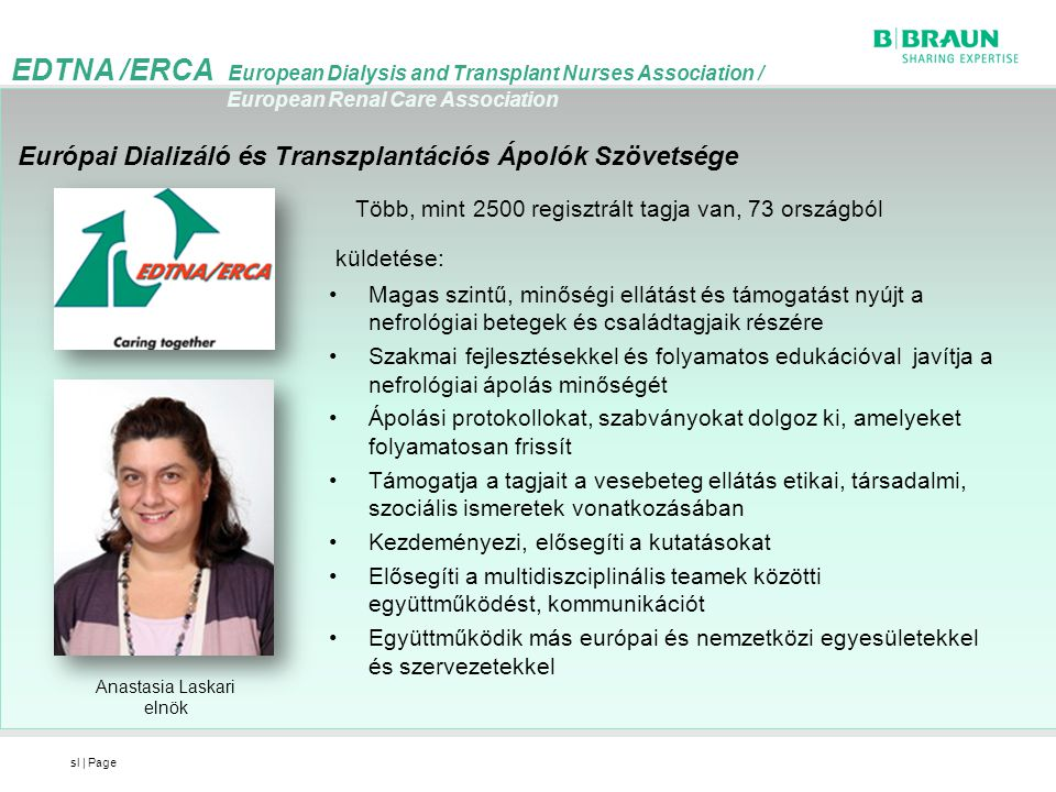 EDTNA /ERCA European Dialysis and Transplant Nurses Association /