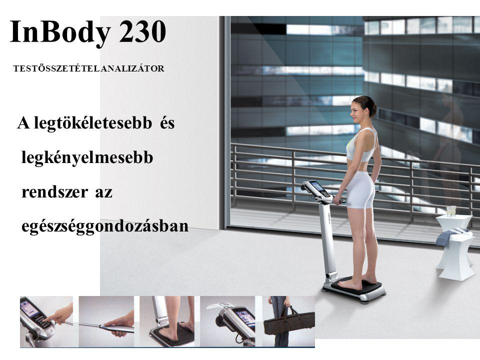 InBody 230 A legtökéletesebb és legkényelmesebb rendszer az