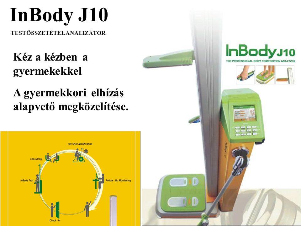 InBody J10 Kéz a kézben a gyermekekkel