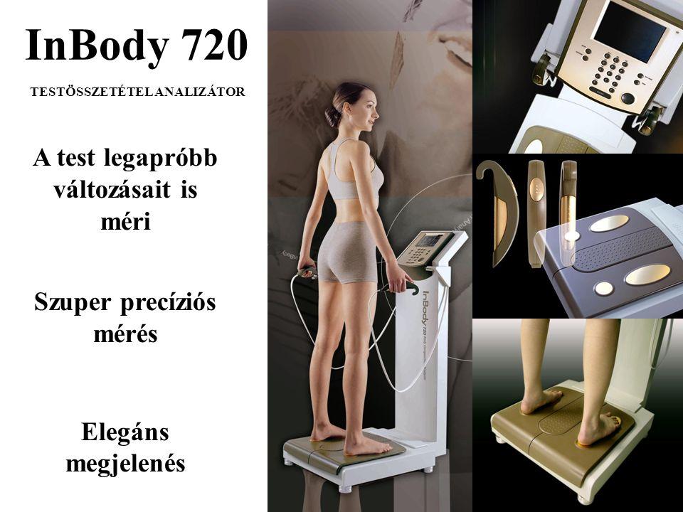 A test legapróbb változásait is méri Szuper precíziós mérés