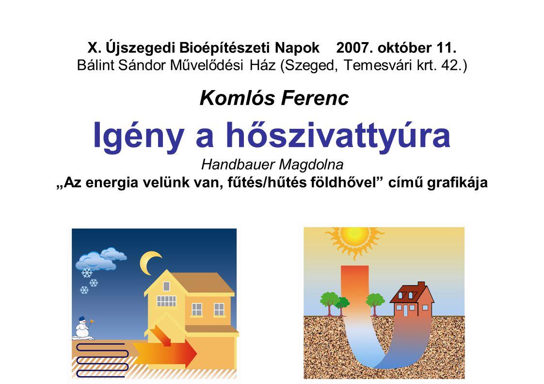 X. Újszegedi Bioépítészeti Napok 2007. október 11