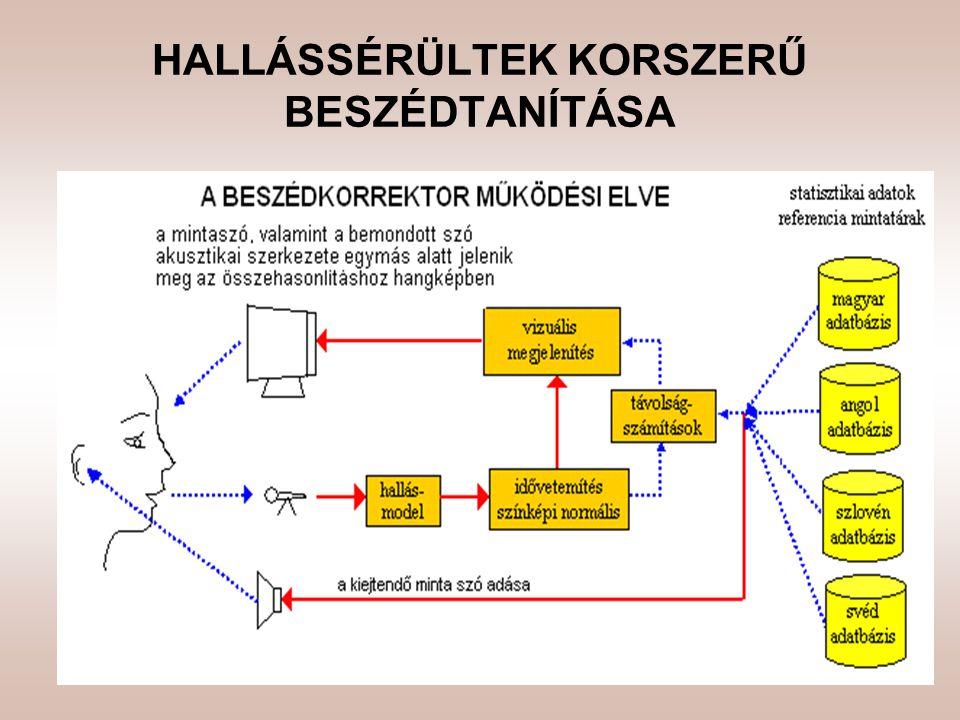 HALLÁSSÉRÜLTEK KORSZERŰ BESZÉDTANÍTÁSA