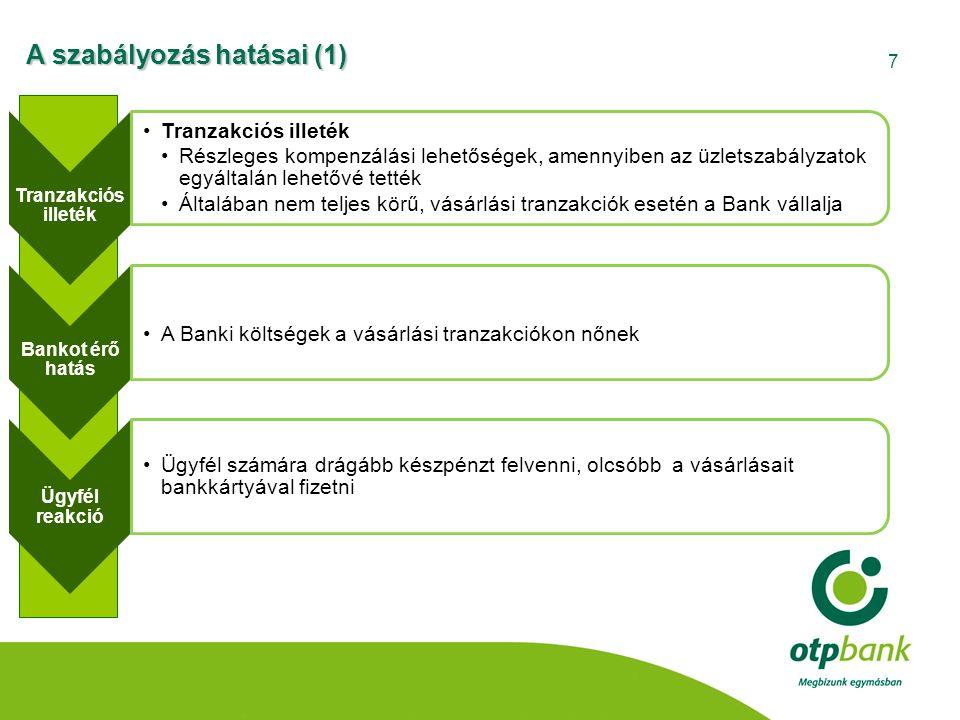A szabályozás hatásai (1)