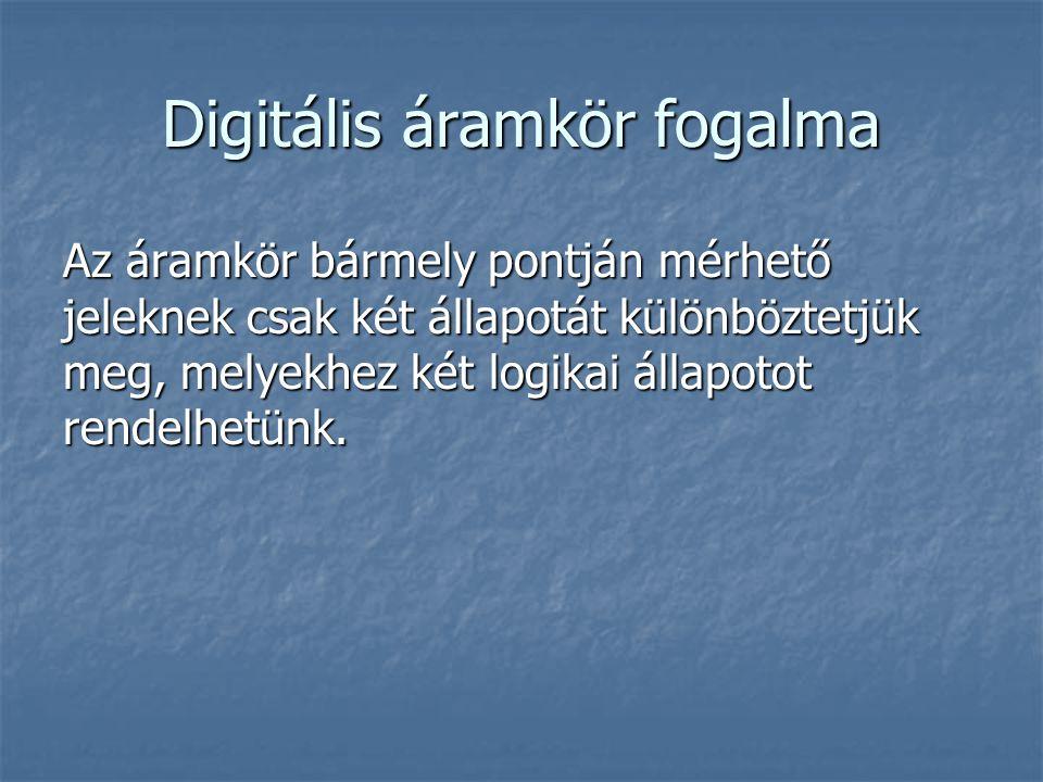 Digitális áramkör fogalma