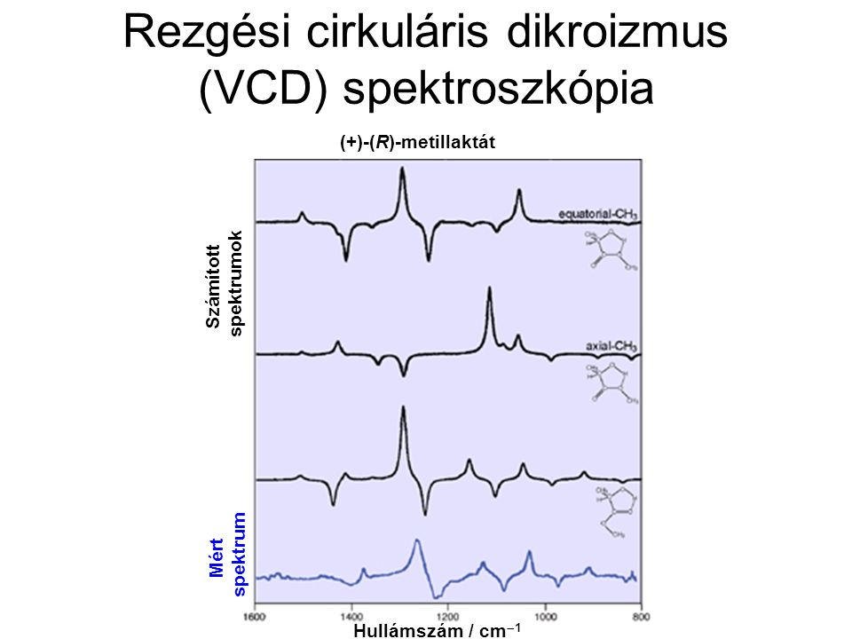 Rezgési cirkuláris dikroizmus (VCD) spektroszkópia