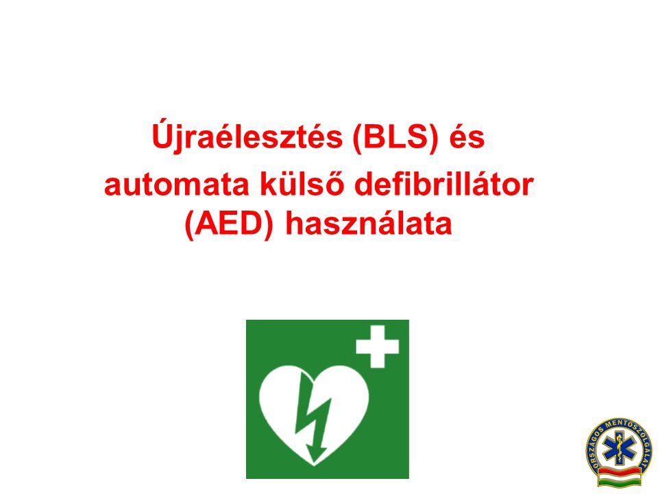 automata külső defibrillátor (AED) használata