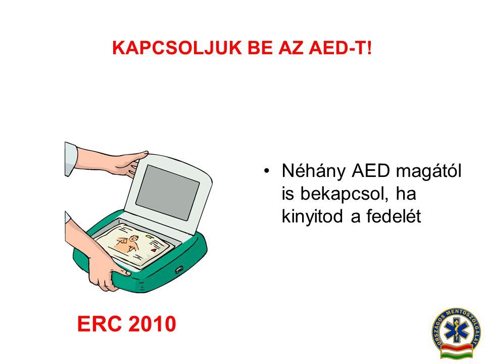 ERC 2010 KAPCSOLJUK BE AZ AED-T!