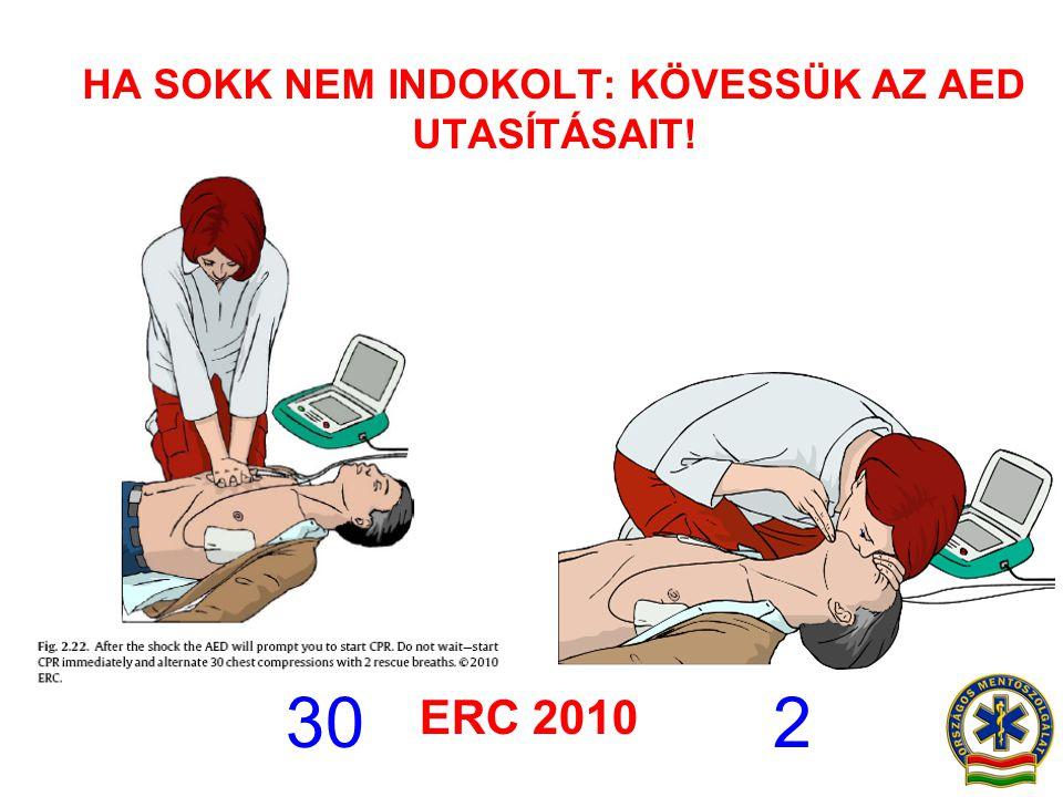 HA SOKK NEM INDOKOLT: KÖVESSÜK AZ AED UTASÍTÁSAIT!