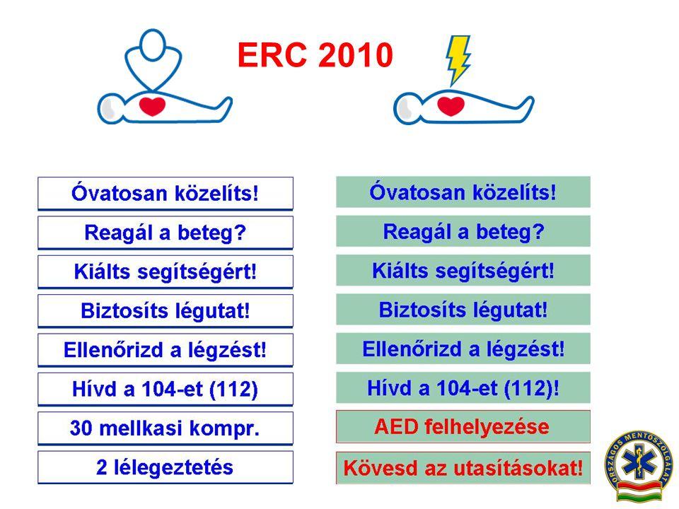 ERC 2010 Óvatosan közelíts! 30 mellkasi kompr.