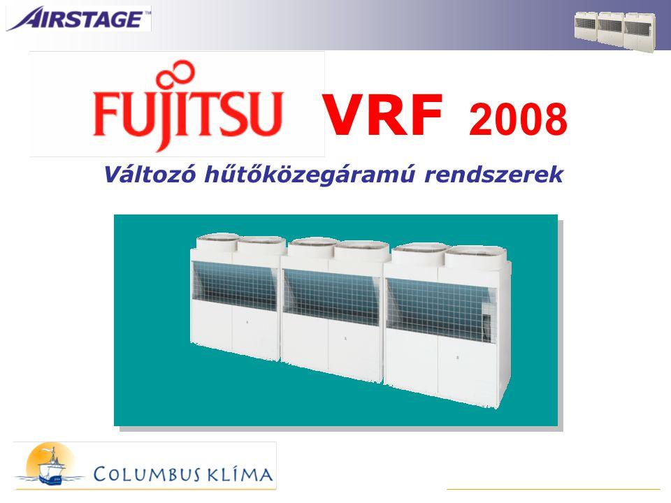 Változó hűtőközegáramú rendszerek