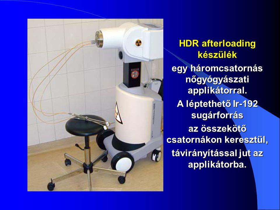 HDR afterloading készülék
