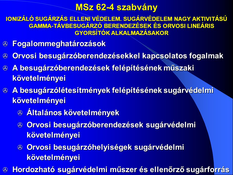 MSz 62-4 szabvány Fogalommeghatározások