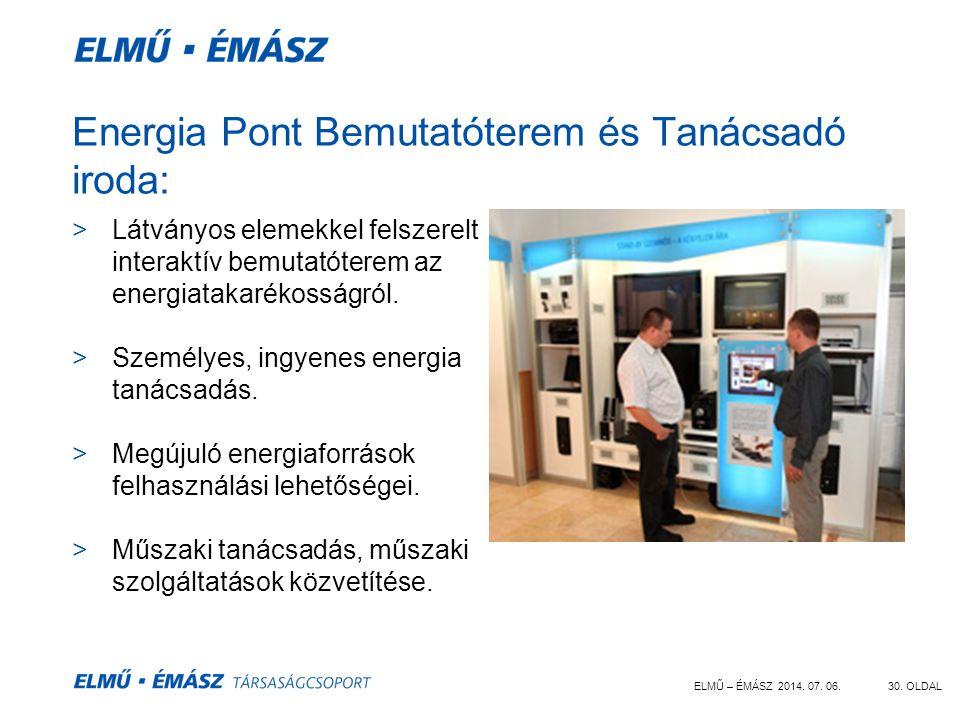Energia Pont Bemutatóterem és Tanácsadó iroda: