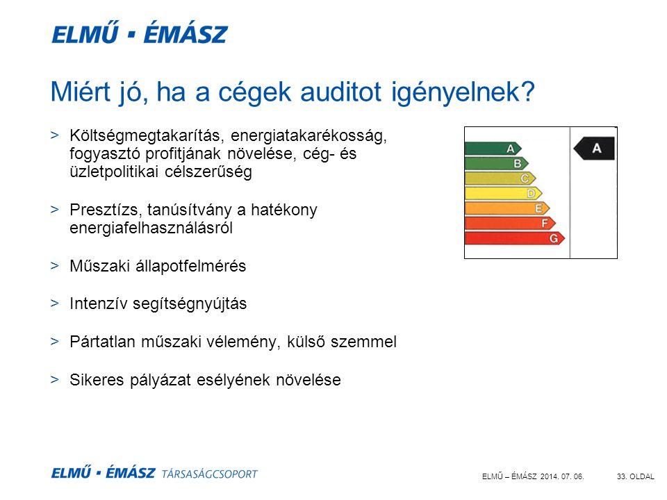 Miért jó, ha a cégek auditot igényelnek