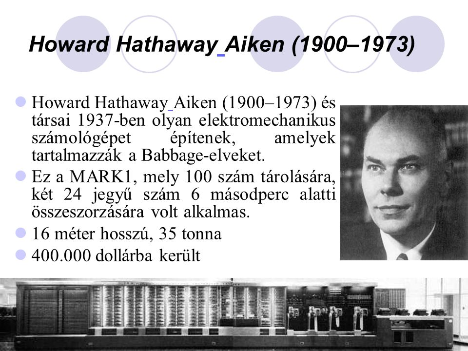 Howard Hathaway Aiken (1900–1973)