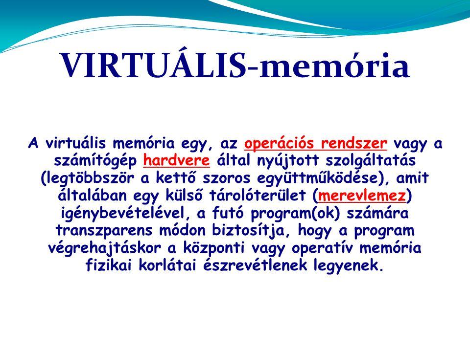 VIRTUÁLIS-memória