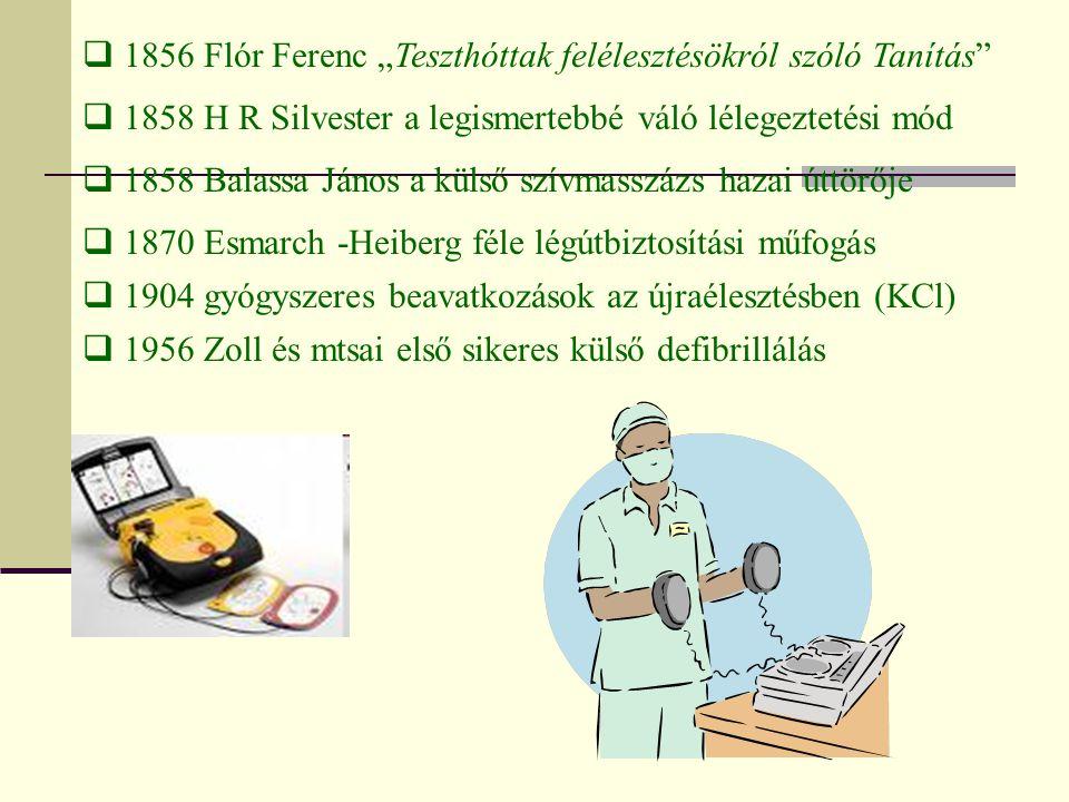 """1856 Flór Ferenc """"Teszthóttak felélesztésökról szóló Tanítás"""