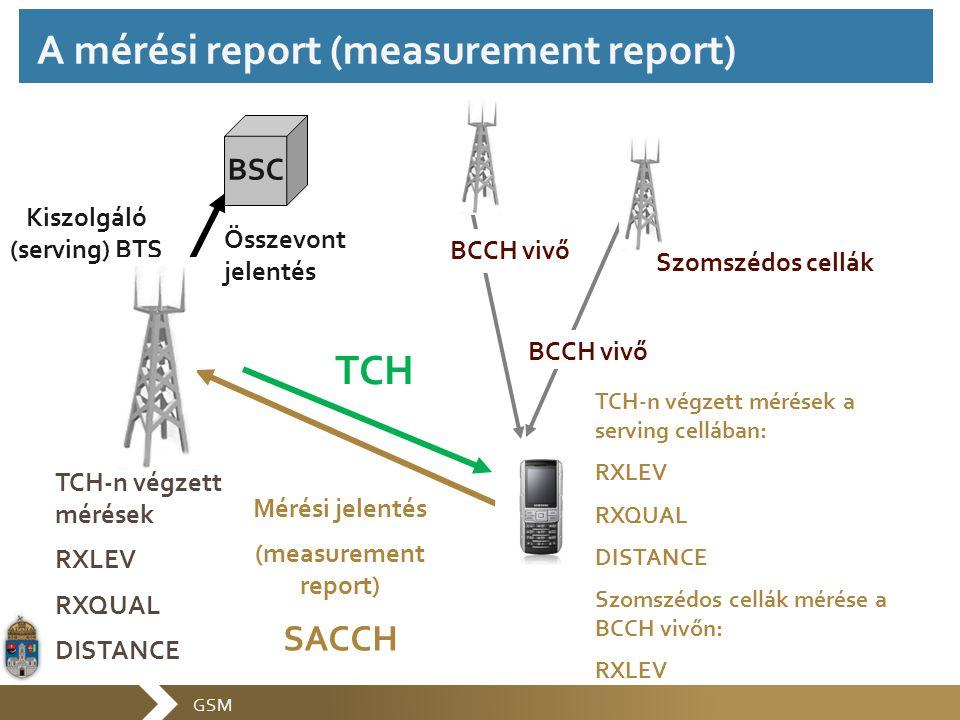 A mérési report (measurement report)