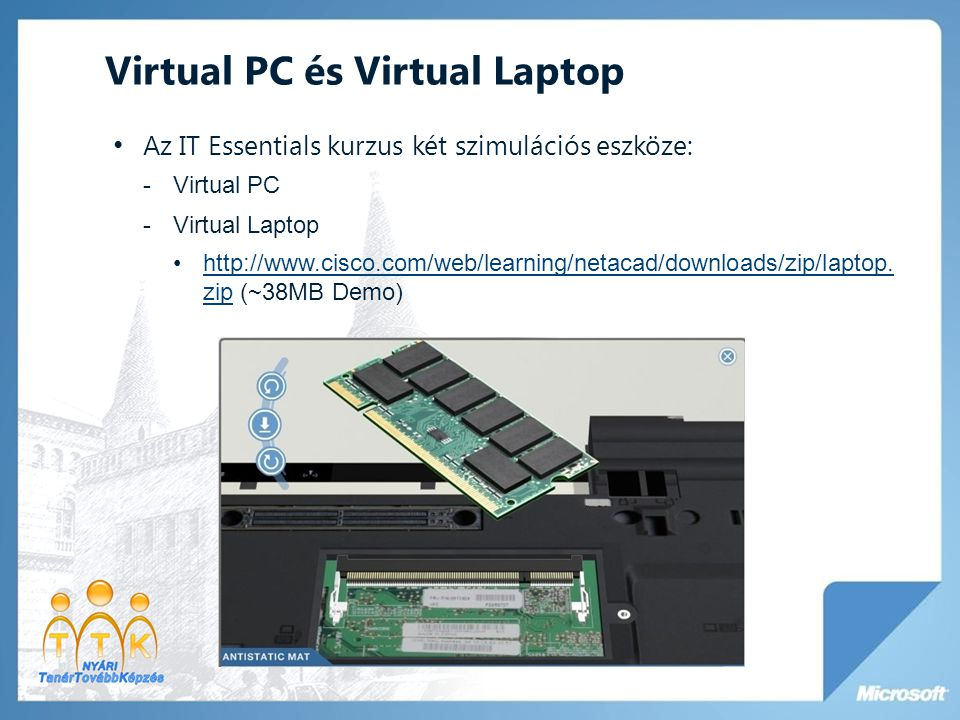Virtual PC és Virtual Laptop