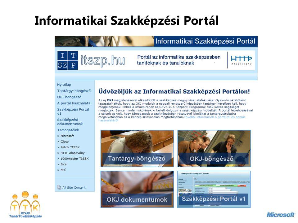 Informatikai Szakképzési Portál