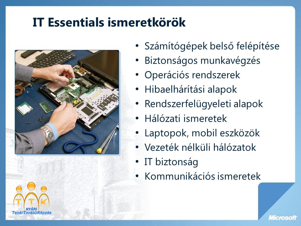 IT Essentials ismeretkörök