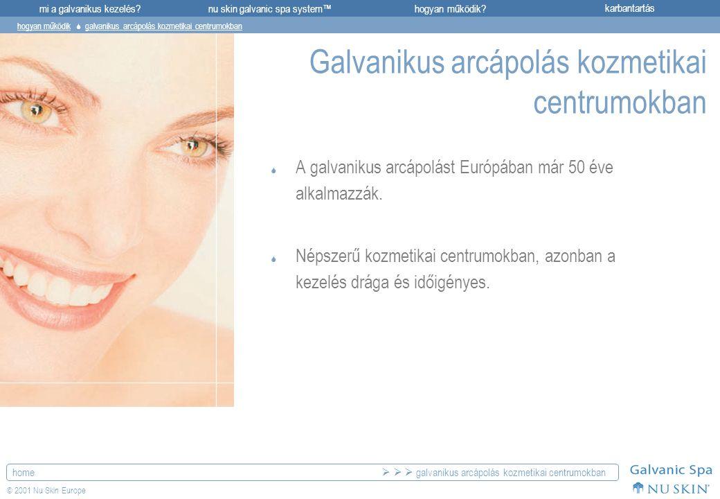 Galvanikus arcápolás kozmetikai centrumokban