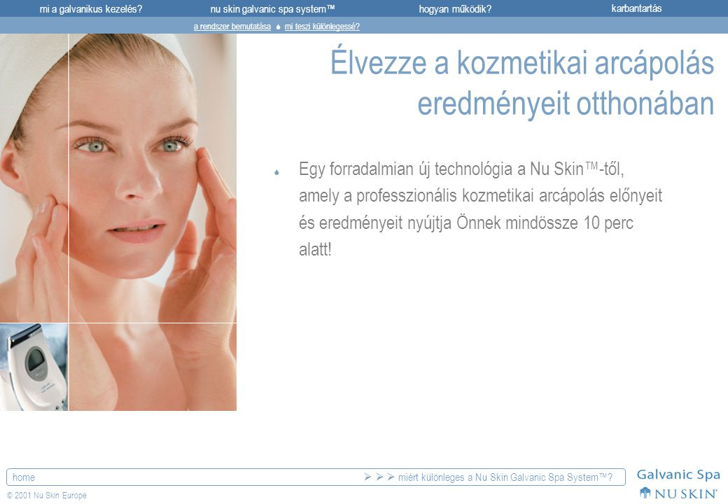 Élvezze a kozmetikai arcápolás eredményeit otthonában