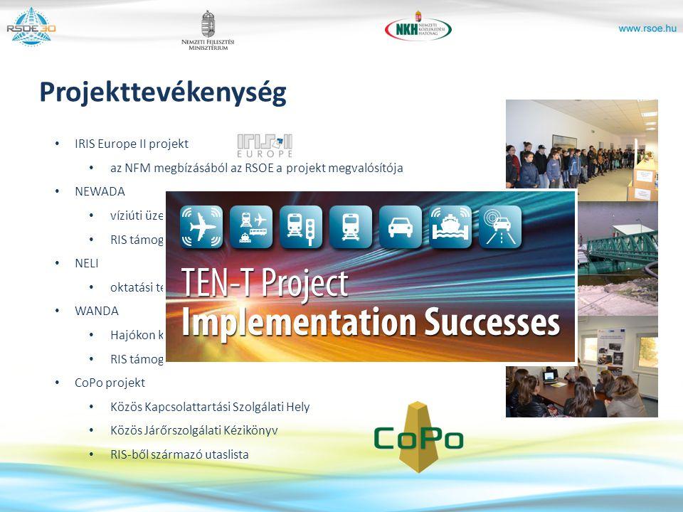 Projekttevékenység IRIS Europe II projekt