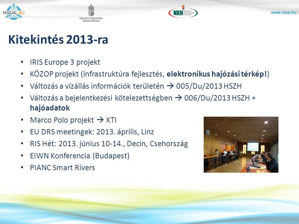 Kitekintés 2013-ra IRIS Europe 3 projekt