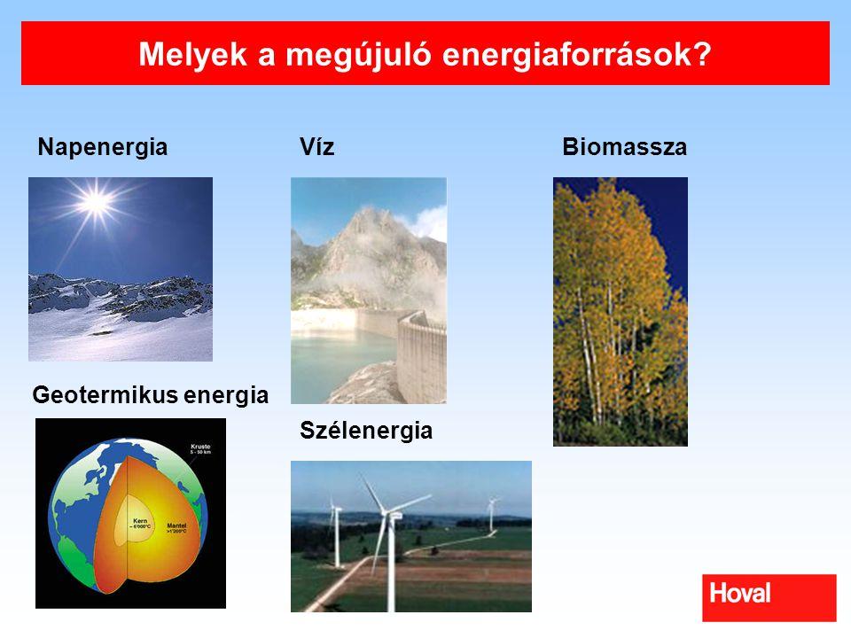 Melyek a megújuló energiaforrások