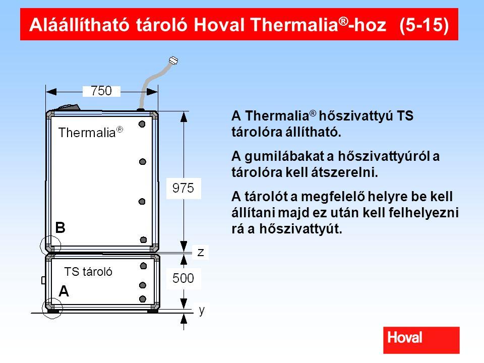 Aláállítható tároló Hoval Thermalia®-hoz (5-15)