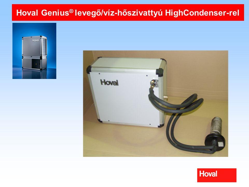 Hoval Genius® levegő/víz-hőszivattyú HighCondenser-rel