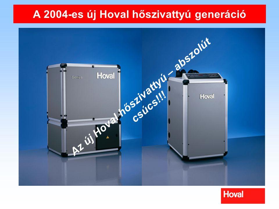 A 2004-es új Hoval hőszivattyú generáció