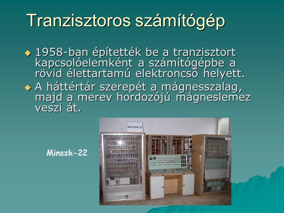 Tranzisztoros számítógép