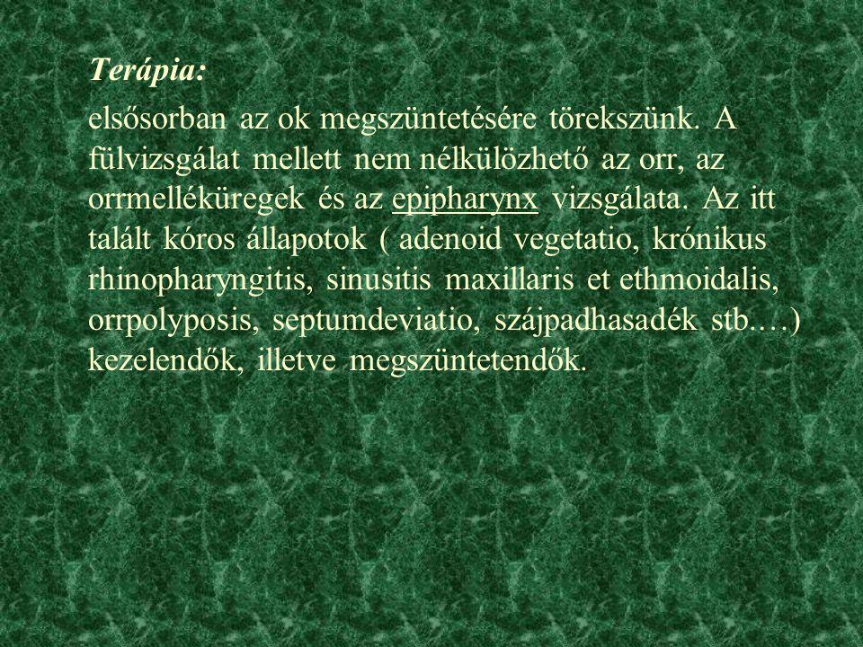 Terápia: