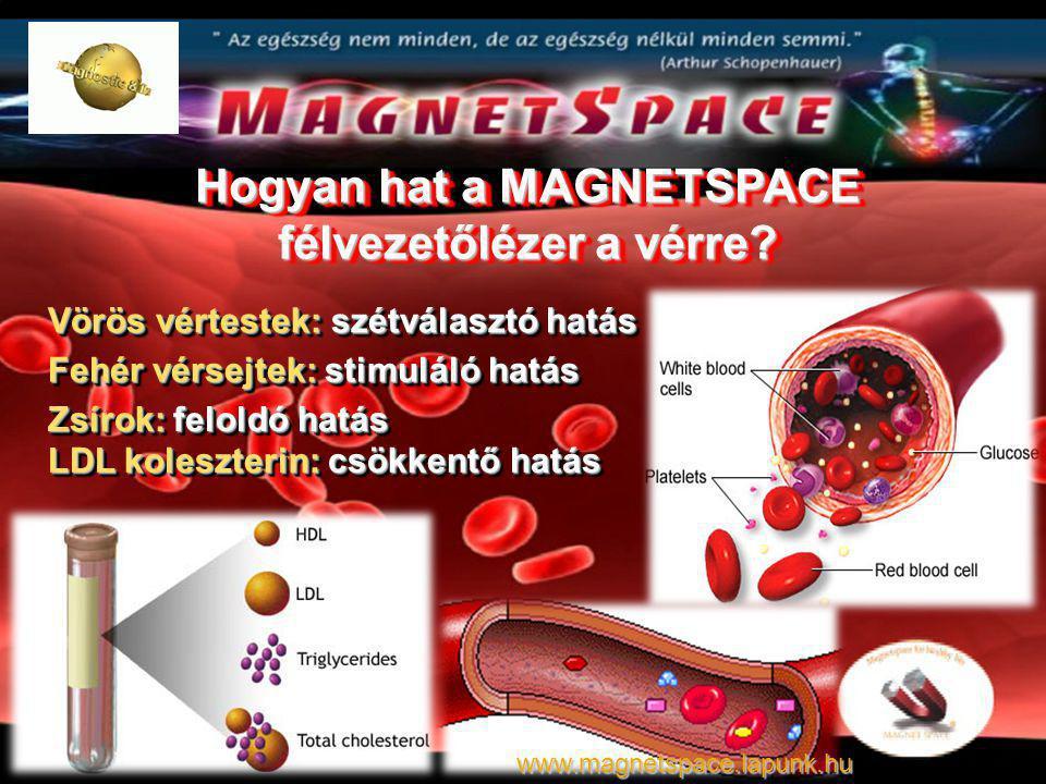 Hogyan hat a MAGNETSPACE félvezetőlézer a vérre