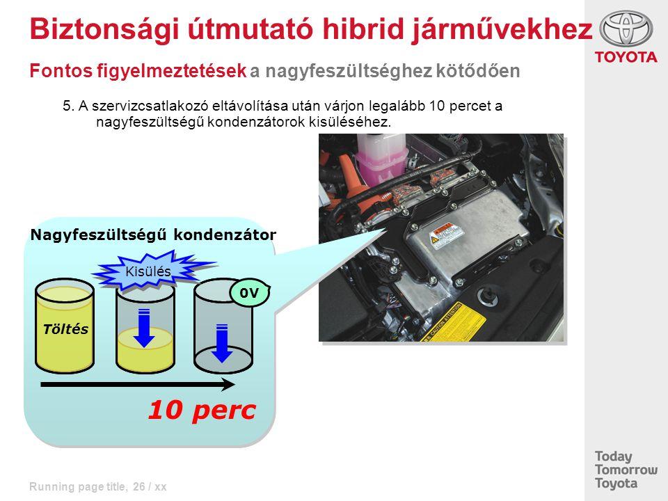 Biztonsági útmutató hibrid járművekhez