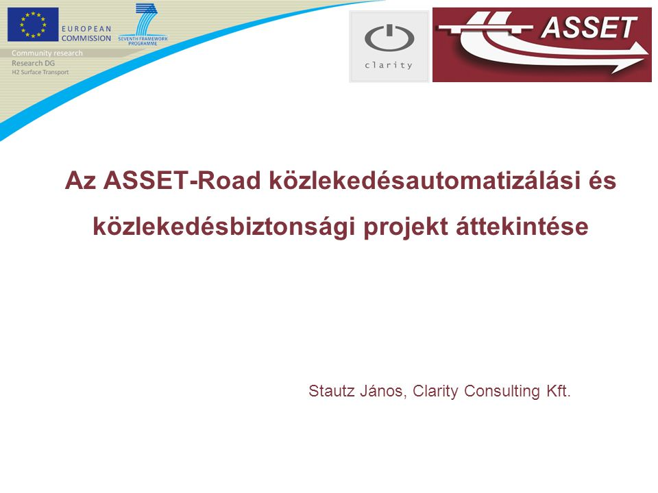Stautz János, Clarity Consulting Kft.