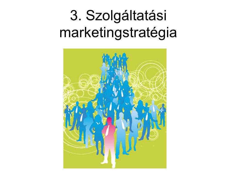 3. Szolgáltatási marketingstratégia
