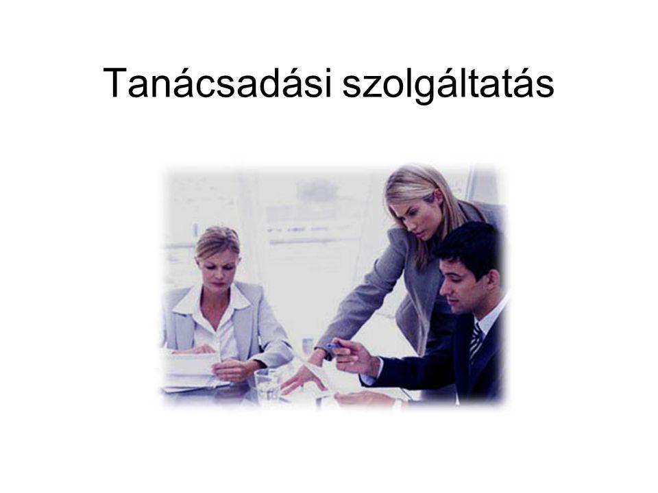 Tanácsadási szolgáltatás