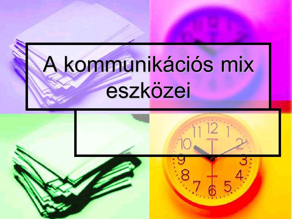 A kommunikációs mix eszközei