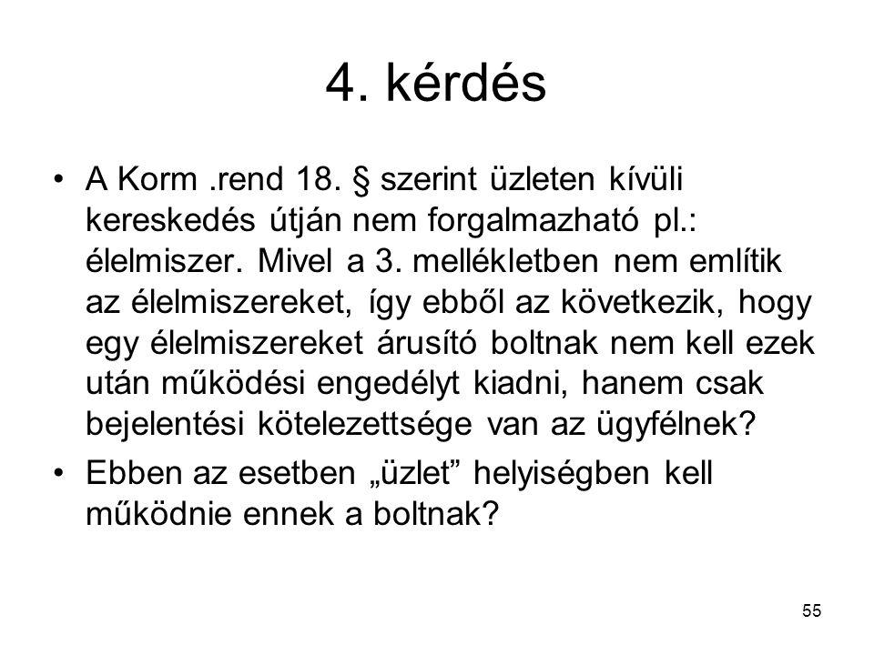 4. kérdés