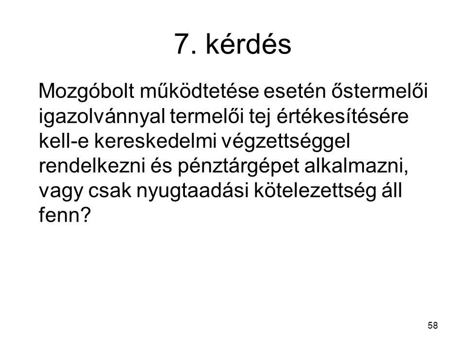 7. kérdés