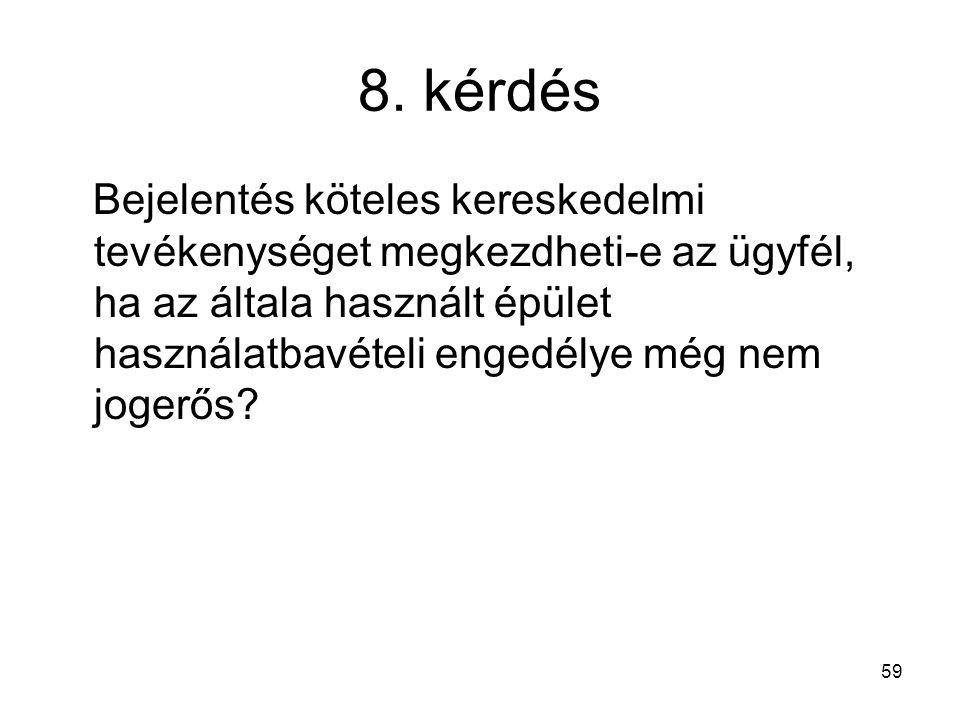 8. kérdés