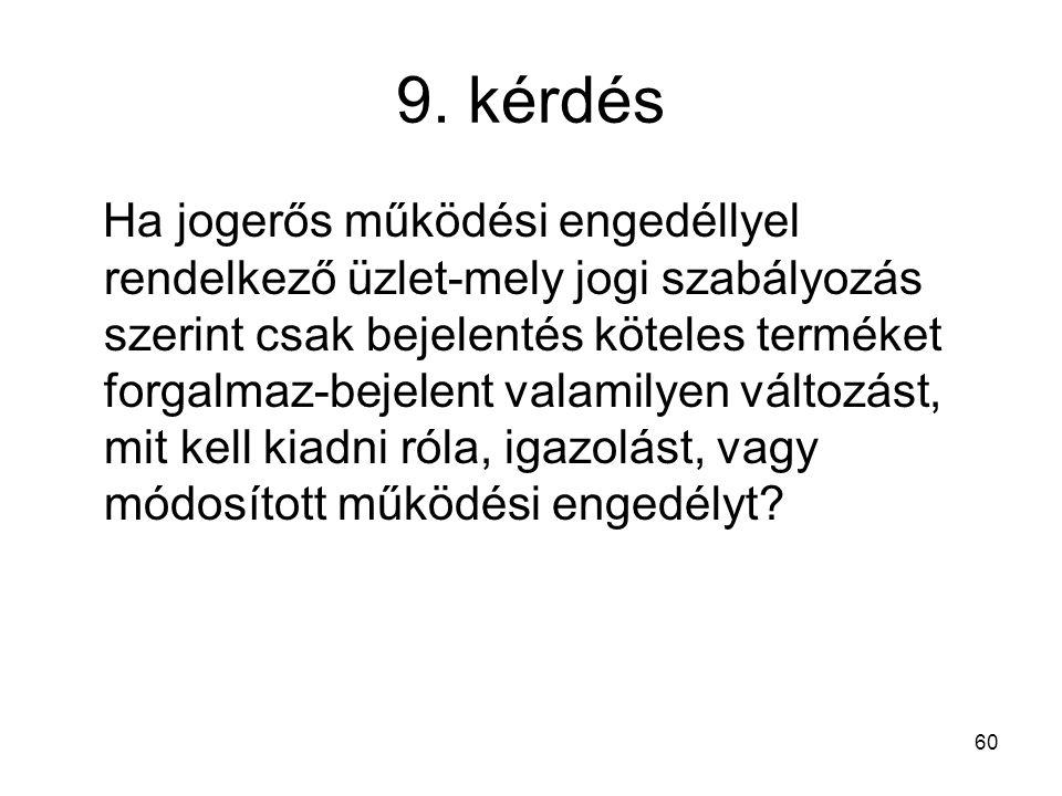 9. kérdés