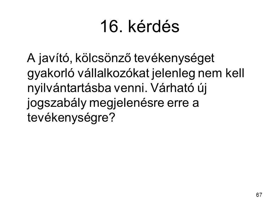 16. kérdés